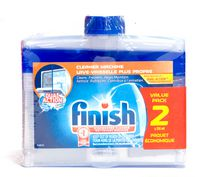 Finish Dishwasher Detergent Cleaner Dual Action Formula Value 2 Pack - 500mL