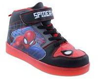 Spider-Man Athletic Shoes with LED Lighs 12