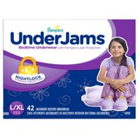 Pampers UnderJams Girls Bedtime Underwear