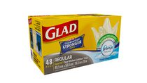 Glad® Easy-Tie® Regular Clear Kitchen Catchers® Bags- 48 Count