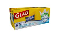 Glad® Easy-Tie® Tall Kitchen Catchers® Bags- 30 Count