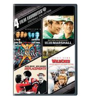 4 Film Favorites: Football Collection - We Are Marshall / Any Given Sunday / The Replacements / Wildcats