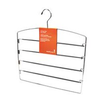 neatfreak! Ultra-Grip Non-Slip 4 Bar Pant Hanger