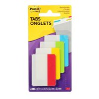 Post-it® Assorted Primary Colours Tabs