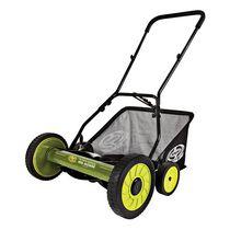 Sun Joe MJ501M Manual Reel Mower w/ Grass Catcher   18 Inch