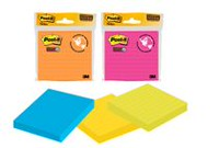 Post-it® Super Sticky Mixed Notes