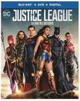 Justice League (Blu-ray + DVD + Digital) (Bilingual)
