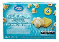 Great Value Light 50% Less Fat Butter Flavor Popcorn