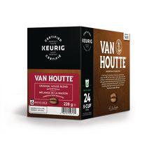 Van Houtte® Mélange de la maison en capsules K-Cup® recyclables, torréfaction moyenne, 24 unités, pour les cafetières une tasse à la fois