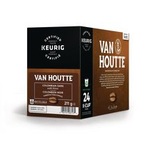 Van Houtte® Colombien noir en capsules K-Cup® recyclables, torréfaction foncée, 24 unités, pour les cafetières une tasse à la fois