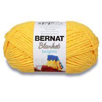 Bernat Blanket Brights Yarn (300g/10.5oz), School Bus Yellow
