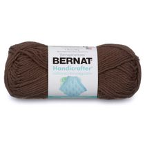 Bernat Handicrafter Cotton Yarn, Off White, 1.75oz(50g), Medium, Cotton