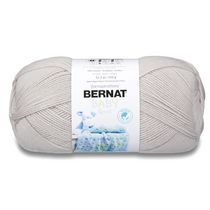 BERNAT BABY SPORT YARN (350G/12.3OZ), BABY GRAY