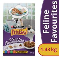 Purina® Friskies® Feline Favourites® Cat Food 1.43kg Bag