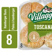 Villaggio Toscana Extra Soft Crustini Hamburger Buns