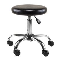Winsome Clark Round Cushion Swivel Stool with Adjustable Height- 93720