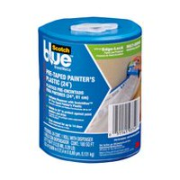 ScotchBlue™ Pre-Taped Painter's Plastic Loaded 24 Inch Dispenser