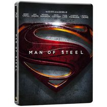 Man Of Steel (Steelbook) (Blu-ray + DVD + Digital HD UltraViolet) (Bilingual)