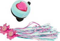 Barbie My Fab Accessory Bicycle Bell and Streamer Combo