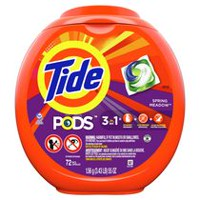 Tide PODS HE Turbo Laundry Detergent Pacs, Spring Meadow Scent