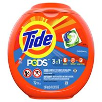 Tide PODS HE Turbo Laundry Detergent Pacs, Original Scen