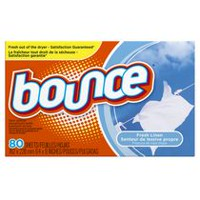 Bounce Fresh Linen Scent Fabric Softener Dryer Sheets