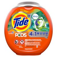 Tide PODS™ Plus Febreze™ Laundry Detergent Pacs, Botanical Rain Scent, 54-count tub