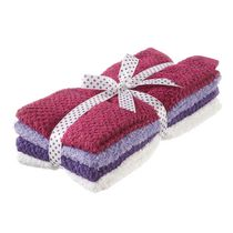 Mainstays Cotton Hand Towel, 4-Pack