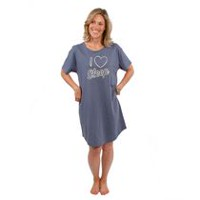 e1de8853ad George Ladies  Short Sleeve Nightshirts
