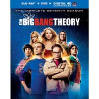 The Big Bang Theory: The Complete Seventh Season (Blu-ray + DVD + Digital HD)