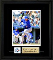 Frameworth Sports Épinglette et plaque encadrés Blue Jays Josh Donaldson, 8 x 10