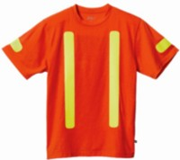 Genuine Dickies Men's Short Sleeve Safety Tee - G91010 M