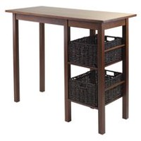 Egan 3pc breakfast table with baskets, Item 94307