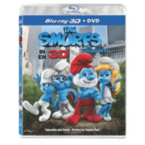 The Smurfs 3D (Blu-ray 3D + DVD) (Bilingual)