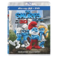 Film The Smurfs 3D ( 3D + DVD) (Blu-ray + DVD) (Bilingue)
