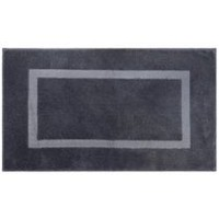 hometrends Square Blue Bath Rug