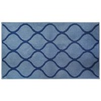 hometrends Morocan Geo Bath Rug