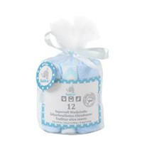 Kidilove Supersoft Blue Baby Wash Cloth