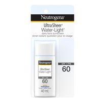 NEUTROGENA® Ultra SheerMD Water-LightMD Lotion écran solaire quotidien pour le visage - FPS 60
