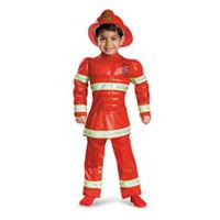 Disguise Red Fireman Toddler Boys' Costume