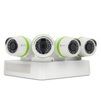 EZVIZ 4 Channel 1TB DVR Security System with 4 Weatherproof 720P Bullet Cameras