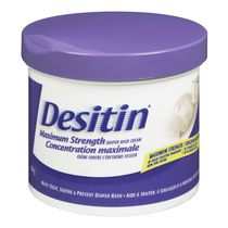 DESITIN® Maximum Strength Diaper Rash Cream, 454 g