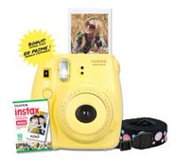 Fujifilm Instax Mini 8 Camera with 10 Exposures & Strap Yellow