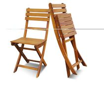Sofia Acacia Bar Chair (2pcs/pack), Golden Teak by Interbuild