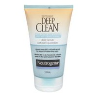 NEUTROGENA® DEEP CLEAN® Long-Lasting Shine Control Daily Scrub, 124 mL