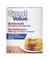 Great Value Buttermilk Complete Pancake Mix