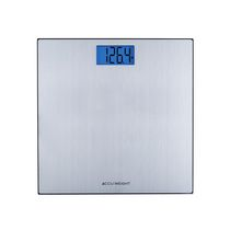 Accuweight Stainless Steel on Glass Digital Scale