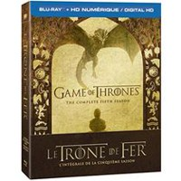 Game Of Thrones: The Complete Fifth Season (Blu-ray + Digital HD) (Bilingual)