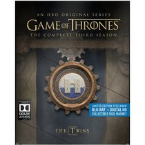 Game Of Thrones: The Complete Third Season (Limited Edition Steelbook) (Blu-ray + Digital HD + Sigil Magnet) (Bilingual)
