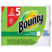 Bounty® Paper Towels, White